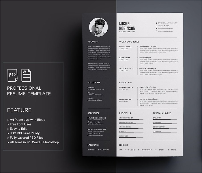 Professional Creative Resume Template