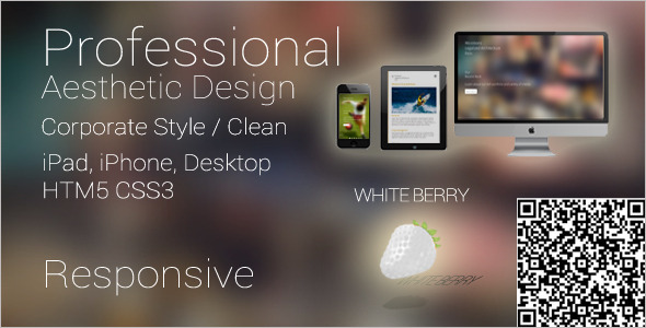 Professional Mobile Website Template