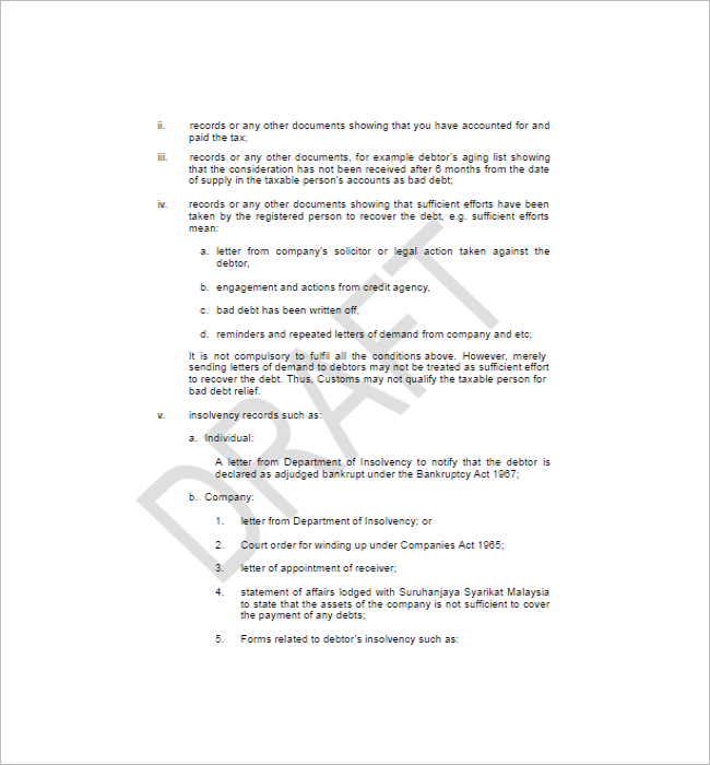 Professional tax Invoice Template