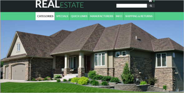 Progressive Real Estate ZenCart Template