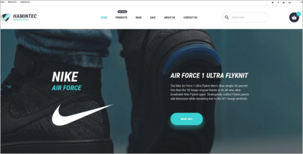Quality Sneakers Store Shopify Template