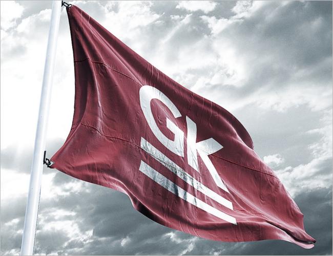 Realistic 3D Flag Mock Up`