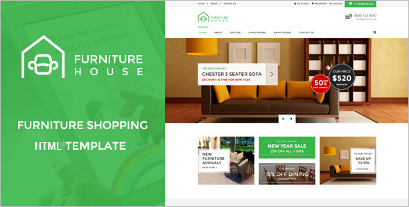 Reatail E-commerce Store Website Template