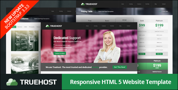 Response Bookmark Website Template
