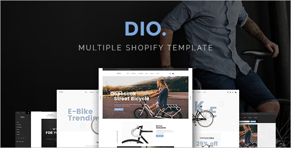 Responsive Dio WordPress Theme