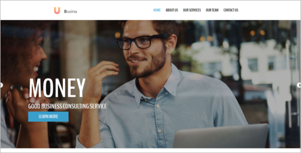 Responsive Html 5 Website Template