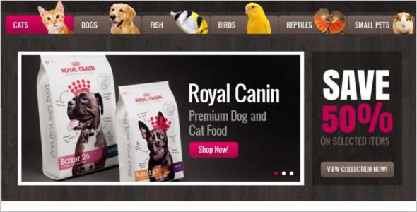 Responsive Pet Animal Magento Theme