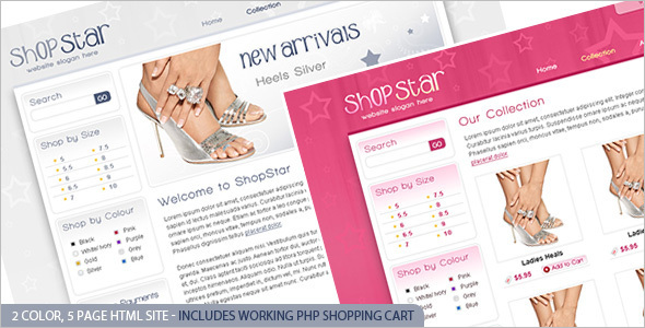 Responsive Retail Website Template