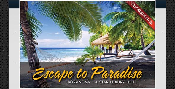 Responsive Travel Agency Poster Theme
