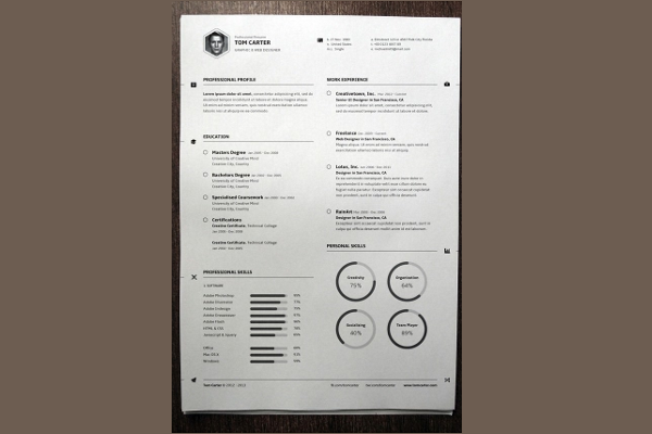 Resume MAC Template Format