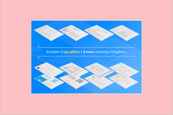Resume Template Bundle Pack