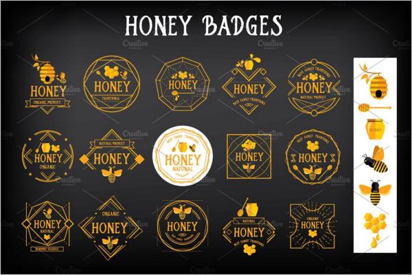 RetroBadges & Stickers Design