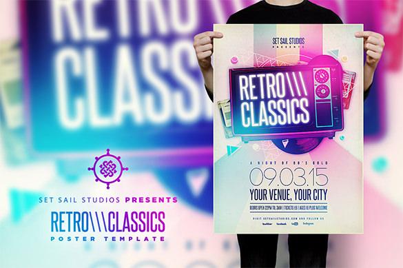 Retro-Classics-Poster