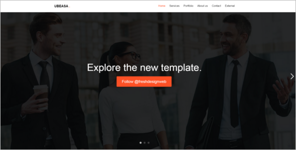 Sample Html 5 Website Template