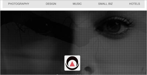 Sample jQuery Website Template
