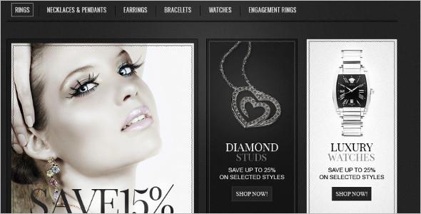Silver Jewelry ZenCart Theme