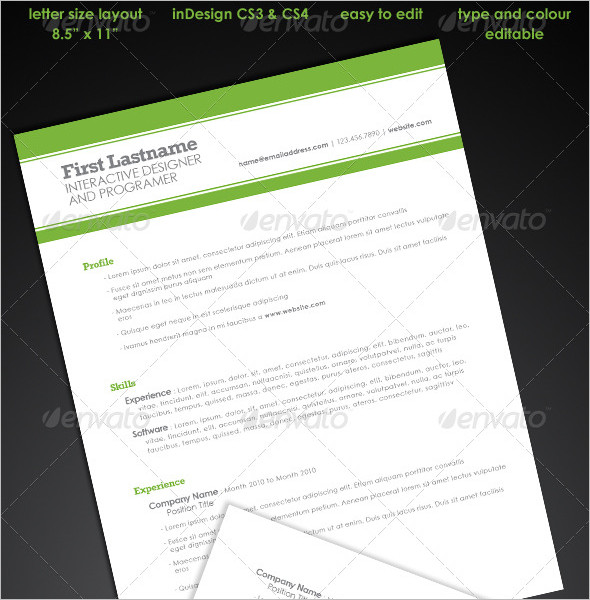 Simple Student Resume Template