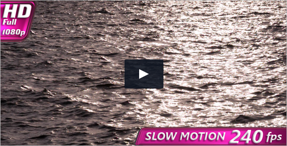 Slow Motion Stock Footage Template