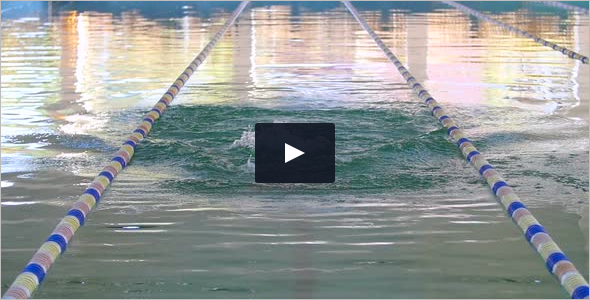 Slow Motion Swimming Video Template
