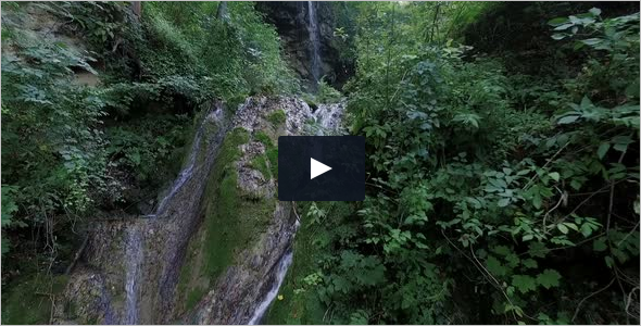 Slow Motion WaterFall Video Template