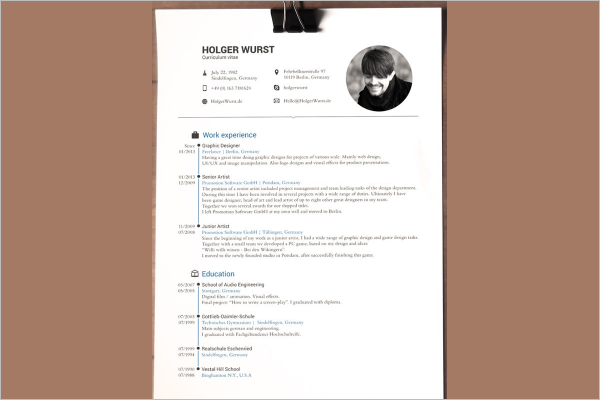 Smple Resume MAC Template