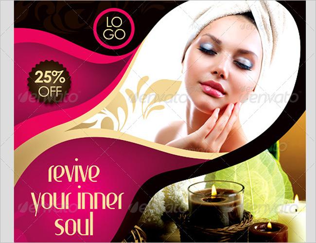Spa Business Promotion Flyer Designs