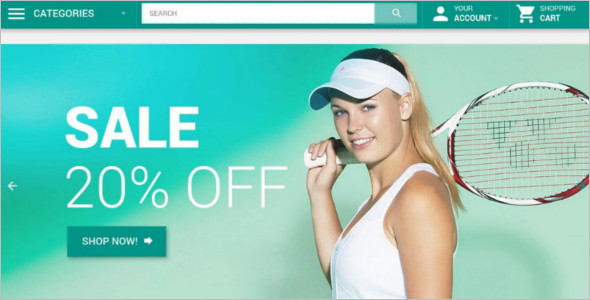 Sports Accessories WooCommerce Template