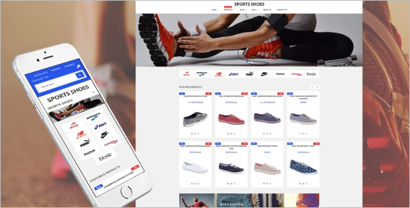 Sports Shoes Shopify Template