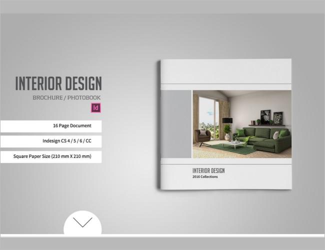 Square Catlog Brochure Design