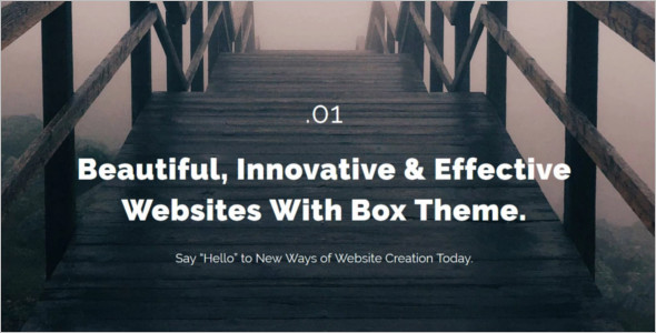 Stock Photo Website Template