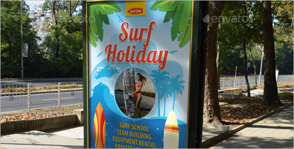 Summer Holiday Vacation Poster Theme