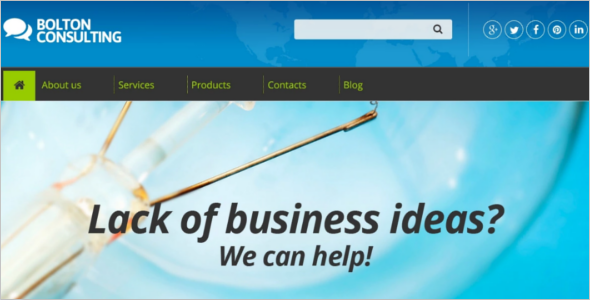 Tax Consulting Drupal Template
