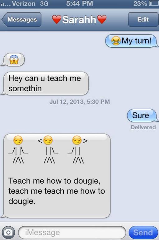 Teaching with Emoji Text