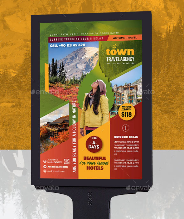 Travel Agency Poster Template