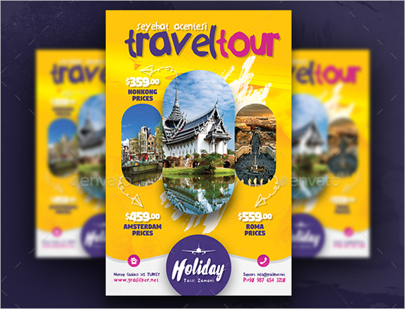 Travel Poster Design Template
