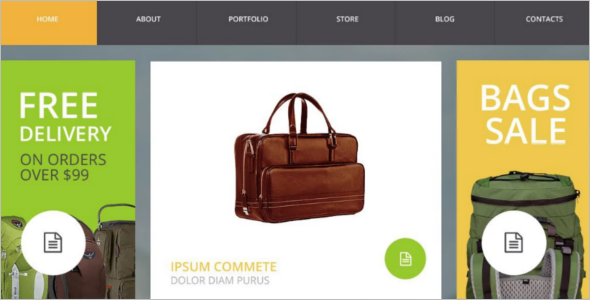 Traveling Accessories WooCommerce Theme