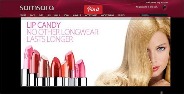 Trending Cosmetics WordPress WooCommerce Template