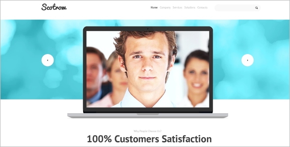 Ultimate Responsive Website Theme