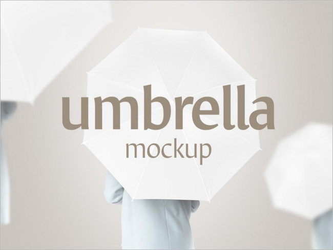 Umbrella Mockup-Design