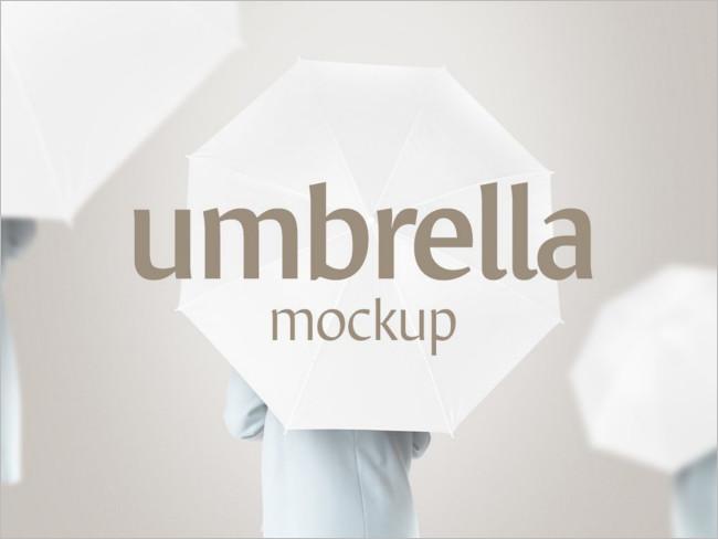 Umbrella Mockup-Design