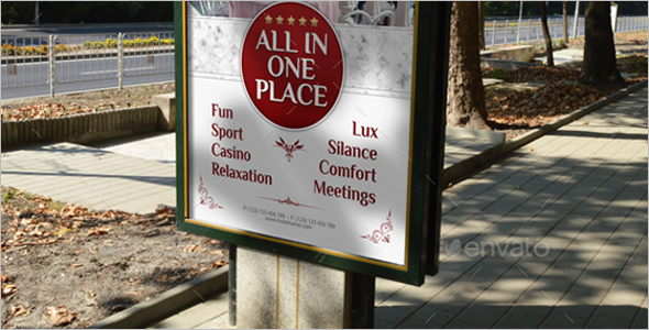 Vacation Grand Hotel Poster Template