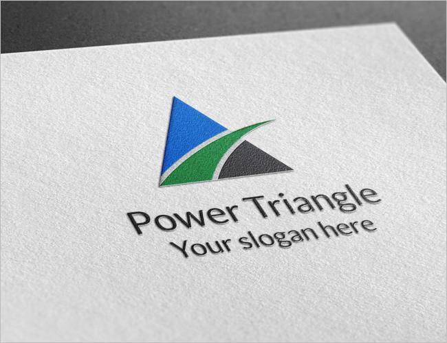 Vector Power Triangle Logo