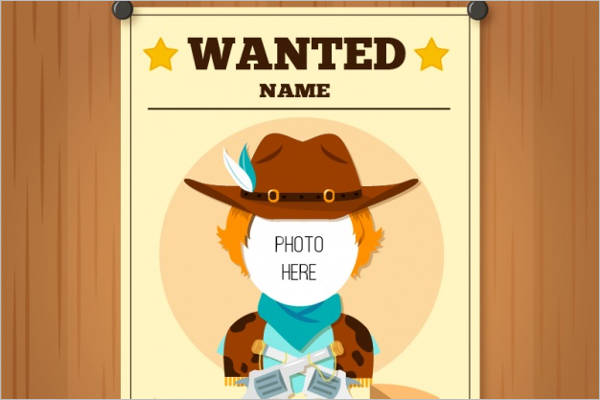 50+ Printable Wanted Poster Templates Free PDF, PSD Designs