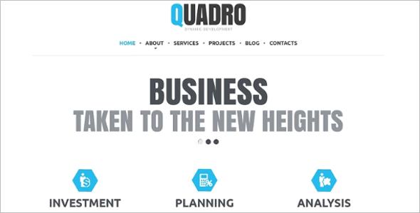 Web Responsive Website Theme