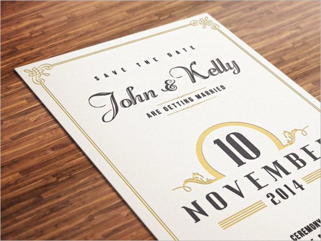 Wedding Invitation Cards Format