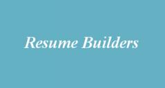 13+ Resume Builders Free Word, PDF, Formats