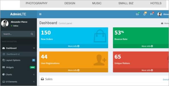 jQuery Bootstrap Website Template