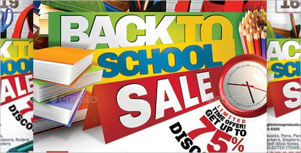 Book Store School Event Flyer