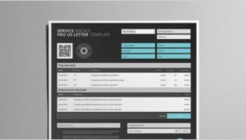 Service Invoice Templates