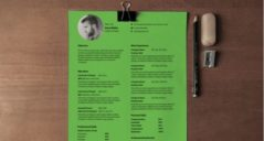 Resume Templates PSD